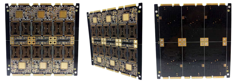 4-layer Impedance Control Gold Finger Circuit Board Fabrication