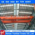 QD Electric hoist trolley double beams overhead crane