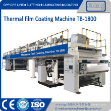 Proceso de producción de película de laminación térmica