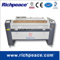 Richpeace computerized promotion model 1300x900mm 80 w laser tube double head laser cutting lengraving machine