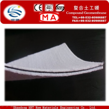HDPE Compound Geomembrane with Nonwoven Geotextile Fabric