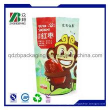 Plastik Mylar kundenspezifische Aluminiumfolie Zuckerbeutel