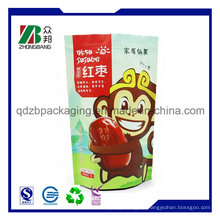 Plastic Mylar Custom Aluminum Foil Bolsa de Azúcar