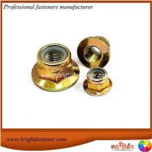 Reliable for Top Lock Nut DIN6926 Hex Flange Nylon Insert Lock Nuts export to Saint Kitts and Nevis Importers