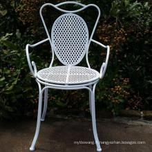 Hot Selling Home and Garden Chaises pli en fer métallique