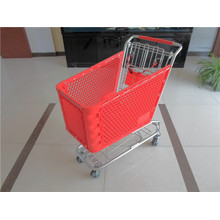 American Style Plastic Shopping Trolley for Sale