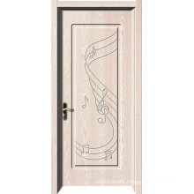 Free Sample Wooden Design American PVC Door