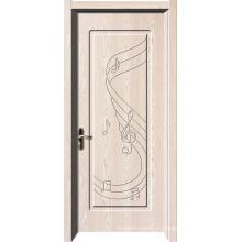 Porta de PVC americano de Design de madeira de amostra grátis