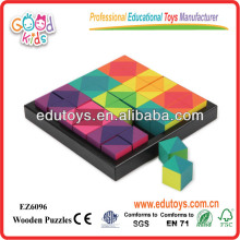 Bildung Spiel Wooden Cube, Pädagogisches Puzzle