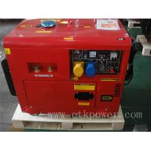 4.6kw/50Hz Silent Diesel Welder Generator Set