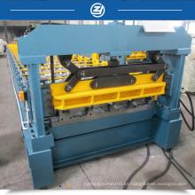 Máquina de Rollformer de panel de techo metálico