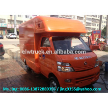 China ChangAn mini mobile pizza van store truck/ fast food truck for sale