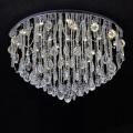 round glass crystal pendant chandelier cristal light