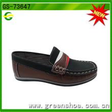 Sapatos de segurança de couro novo Arrivel da fábrica de China