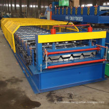 China mobile house IBR roof panel steel metal sheet roll forming machine