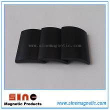 Schwarz Epoxy Arc Neodym Permanent Magnet