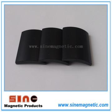 Черный эпоксидный дуговой неодимовый магнит