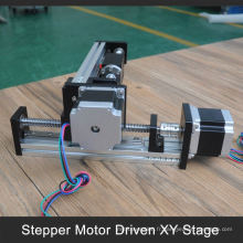 accepter paypal alu. Table de translation motorisée à base de profil xy pour machine laser