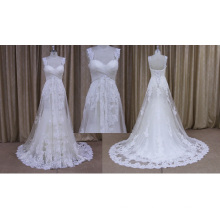 R010 vente chaude dentelle robe de mariée 2016