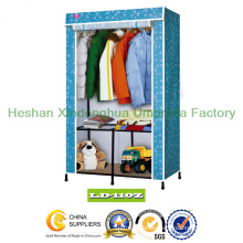 Folding PP Non Woven Fabric Wardrobe Cloth Wardrobe (LD-110Z)