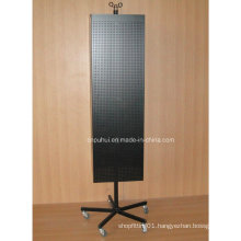 Metal Pegboard Floor Display (PHY2040)