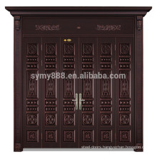 alibaba china industrial door handles and locks steel luxury muti leaf door