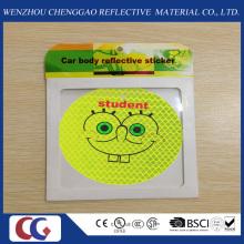 Pegatinas refletoras de luz para seguridad de los niños