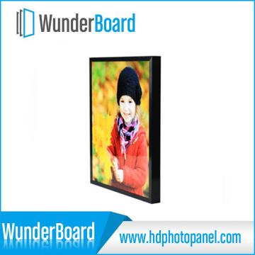 Plug-in-Design Metall Frame-schwarze Farbe für Wunderboard-Sublimation-Aluminium-Bleche