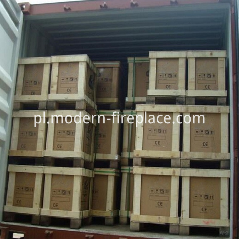 Wood Fireplaces Burner Packaging