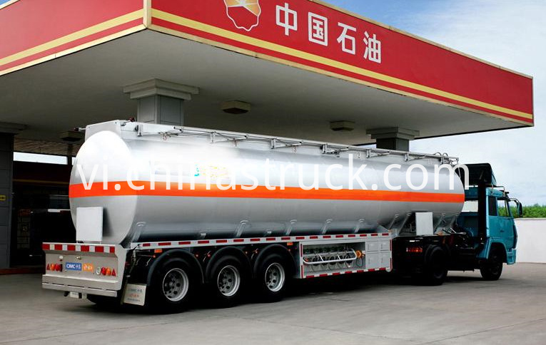 CHINA PETROL 3 axle 40CBM tank semi-trailer
