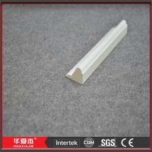 28 x 17 mm Kunststoff Vinyl weiße Base Cap Blatt