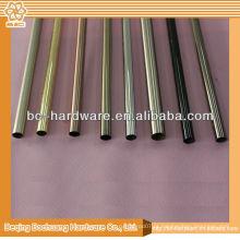 Tubo de cortina de cromo 12,16,19 mm, tubo de cortina de cromo, barra de cortina de cromo