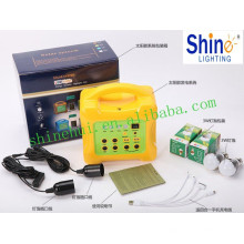 Westinghouse bateria com sistema de energia solar / sistema de iluminação solar para casa
