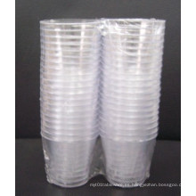 2oz vidrio plástico 2 oz gafas de plástico duro de plástico Mini Copa de Vaso Copas
