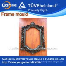Nuevos moldes decorativos decorativos plásticos de los marcos del espejo