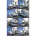 Lujo icu automático eléctrico motor inclinable posición ajustable médico camas de hospital para la venta