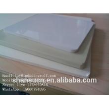 Excellente carte de mousse de PVC de matière de chlorure de polyvinyle de résistance à la corrosion