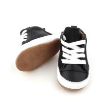 검은 연한 가죽 신발