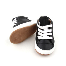 Czarne, miękkie, skórzane buty