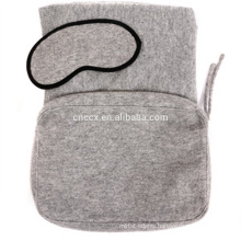 PK18ST003 comfort travel set with throw and eye mask
