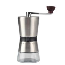 Ручная кофемолка легко удерживается