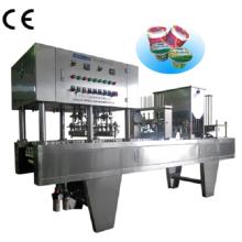 Machine de remplissage et de cachetage d'eau de tasse en plastique automatique