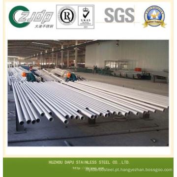 Tubulação redonda sem emenda do aço inoxidável de ASTM 304n