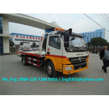 China C140HP 3-5T Abschleppwagen, 4x2 Flachbett Abschleppwagen, Wrecker Abschleppwagen Abmessungen
