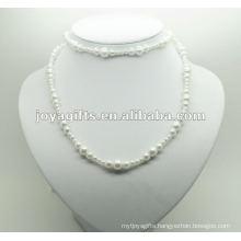 Fashion Hematite Pearl Wrap