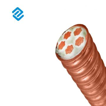 Corrugated Copper Sheath High Temperature Mineral Cable