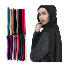 Heißer verkauf muslimischen frauen kopf schal schal premium stretch baumwolle Jersey hijab