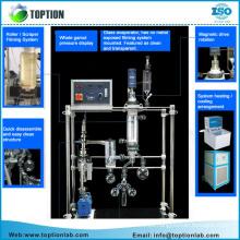 Sistema de Destilación Molecular de Senda Corta para Extracción de Cbd / thc Separada