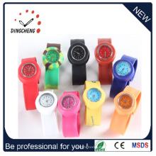 Relojes de pulsera de señoras de moda de silicona (DC-100)