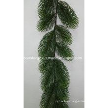 PE Plastic Jumbo Pine Garland Artificial Plant for Christmas Decoration (49079)